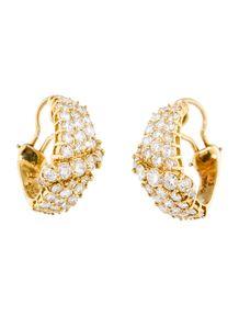 3.50ctw Diamond Cluster Earrings #jbirnbach