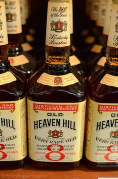 Old Heaven Hill Very Rare Old 8 yr Bourbon Whiskey - great whiskey under $20