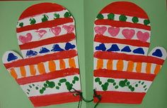 Kindergarten :)  Winter!  I love winter projects.