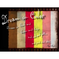 Graffitee Studios Maya Angelou Dream in Color Maya Angelou Quote Textual Art on Wrapped Canvas