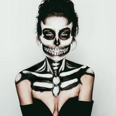 "Jill Marie M U A on Instagram: ""This #halloween makeup I did on @nattaliedawn…"