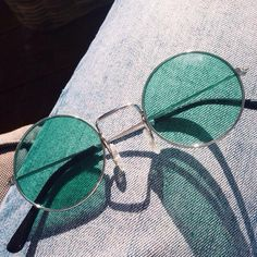ROUND COLORS HIPPIE SUNGLASSES #green #mint #sunglasses #pastels #pastel #patches #ulzzang #southkorean #koreanfashion #fashion #trendy #cute #kawaii #harajuku #aesthetic #aesthetics  #japanese #tumblr #tumblrgirl #tumblroutfit #clothing #outfit #itgirlshop #itgirlclothing #black #eyewear