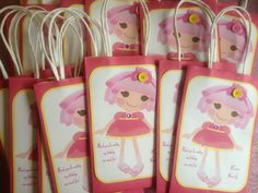 LALALOOPSY Gift Bags by MyAllyBally on Etsy, $1.00