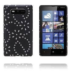 Firenze (Sort) Nokia Lumia 820 Deksel Sorting, Sony, Samsung, Iphone, Sam Son