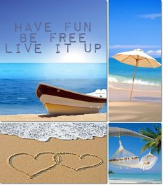 moodboard beach made by AT Collages, Color Collage, I Love The Beach, Beach Quotes, Background Pictures, Mood Boards, Seaside, Collage Making, Summertime