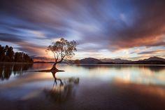 Lac Wanaka iles du sud Nouvelle Zélande