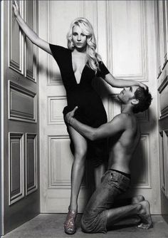 Caroline and Klaus.