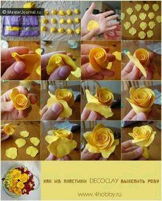 Dy rosa amarilla