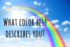 What Color Best Describes Your Inner Personality?   I got Cyan