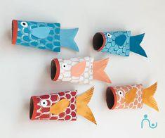 3 Fun DIY Sea Creatures: Toilet Paper Roll Crafts for Kids Sea Creatures For Kids, Sea Creatures Crafts, Preschool Crafts, Crafts For Kids, Arts And Crafts, Cardboard Crafts, Paper Crafts, Toilet Paper Roll Diy, Diy Pour Enfants