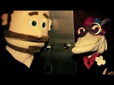 "Be sure to check out the web series Sockamamy!    Our web series features sock puppets Cassie and Bernie in ""Sockamamy"". [sok-uh-mey-mee]"