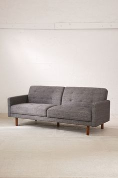 Slide View: 3: Berwick Mid-Century Sleeper Sofa