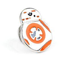 Nowy Przyjazd Wysokiej Jakości Urok Ładny BB-8 BB8 Klapy Pin Broszka Emblem Badge Star Wars Maski Broszki Pins Dla Kobiet I Mężczyzn