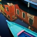 Burano, Italy - Reflection 5 (© Stewart Halperin)