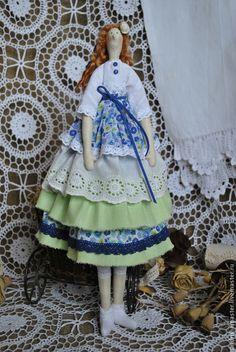 Куклы Тильды ручной работы. Кукла тильда Флора. Интерьерная текстильная кукла в стиле Тильда.. Гамаюн кукольных дел мастер. Ярмарка Мастеров.