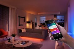 For some reason and for the longest time ever, the Philips Hue app was not supported on the iPad. Instead the app was only supported on mobile devices, which meant that iPad users looking to control their Hue c Best Smart Lights, Best Smart Home, Philips Hue, Solar Panels For Home, Style Deco, Kit Homes, Home Automation, House Prices, Home Goods