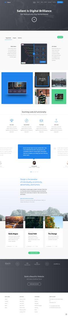 Corporate Agency #wordpress #template   Download http://themeforest.net/item/salient-responsive-multipurpose-theme/4363266?ref=sinzo
