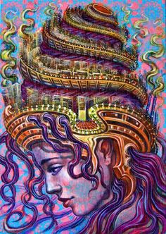 ✣... The more one explores oneself, the more power one finds within....     ✣ Hazrat Inayat Khan    arTist; Amanda Sage