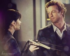 Kseniamor — liberation-and-relief: The Mentalist - Patrick. Simon Baker, Kimball Cho, Robin Tunney, Patrick Jane, Sink Or Swim, Cop Show, How To Relieve Stress, It Cast, Lisbon