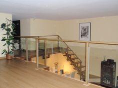 #Dormitorio #Estudio #Escalera #moderno #decoracion via @planreforma #camas #antes y despues #doble altura #revestimiento #loft #pared #madera