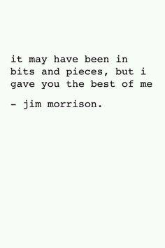 Jim Morrison, i love you