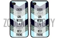 Chevron BFF best friends phone cases SHORT & TALL for Iphone and Galaxy  #UnbrandedGeneric