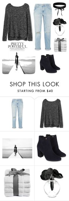 """""""Pretty powerful"""" by luci-fashionforever ❤ liked on Polyvore featuring Current/Elliott, Gap, SOREL, Monsoon, Lalique and Boohoo"""