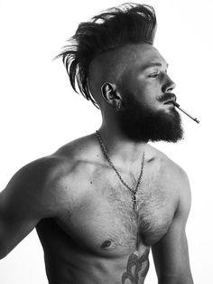Bearded Beauty Declan-John Geraghty - The Underwear Expert