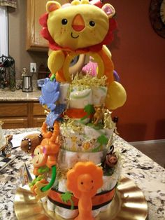 Diaper cake fish theme had fun creating this be creative and diaper cake for boy publicscrutiny Image collections