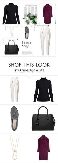"""untitled/3"" by aicha59 on Polyvore featuring mode, Delpozo, Rumour London, Via Spiga, Prada, Kate Spade et Samsøe & Samsøe"