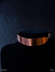 Nouvelle création en cuivre : collier en 3 parties et ras du cou