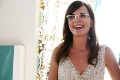 Gafas en color blanco para novia