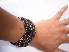 bracelete miçangas