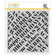 simon says stamp holiday words - Google Search Holiday Words, Card Making Supplies, Simon Says Stamp, My Scrapbook, Christmas Wishes, Clear Stamps, Spring Flowers, Peace And Love, Make It Yourself