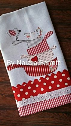 Discover thousands of images about Machine embroidery cutwork. Sewing Appliques, Applique Patterns, Applique Designs, Embroidery Applique, Quilt Patterns, Machine Embroidery, Embroidery Designs, Sewing Patterns, Dish Towels