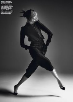 Karlie Kloss by David Sims for Vogue Paris March 2014