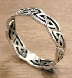 Elven Silver Knot Ring | Lord of the Rings Rings Shop