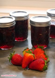 Frills in the Hills: Home made strawberry Jam