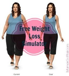 Weight loss tool: Free site simulates your body at your goal weight!