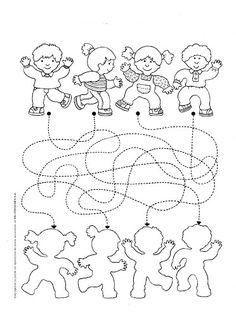 #çizgiçalışması#1.sınıf#okulöncesi#sınıfetkinliği#sınıffaaliyeti#anasınıfı#okul#ilkokul#noktalarıbirleştir# Days Of The Week Activities, Art Activities For Toddlers, Preschool Activities, Human Body Crafts, Sports Theme Classroom, Maze Worksheet, My Little Baby, Preschool Worksheets, Lessons For Kids