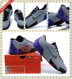 Gray Black Purple Nike KD Trey 5 II KD00150135