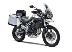 Triumph Tiger 800 XC with Touratech kits.