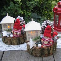Jídlo a floristika / Zboží | Fler.cz Rustic Christmas, Kids Christmas, Christmas Wreaths, Christmas Ornaments, Christmas Table Decorations, Holiday Decor, Diy Garland, Craft Sale, Flower Centerpieces