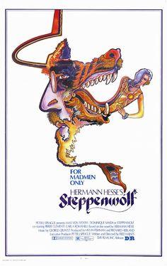 Steppenwolf Poster Movie 27 x 40 In - x Max von Sydow Dominique Sanda Pierre Clementi Carla Rominelli Roy Bosier Max Von Sydow, Hermann Hesse, Cinema Posters, Movie Posters, Fred, Dominique, I Love Books, Mad Men, Posters
