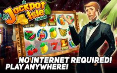 Download Slots Jackpot Isle - a tropical casino extravaganza!  We've got slots games of all reel shapes and sizes! This exciting free casino quality video slots game has big wins and bonanza payouts. https://play.google.com/store/apps/details?id=com.RocketGames.SlotsJackpotIsle #Jackpot #Slot