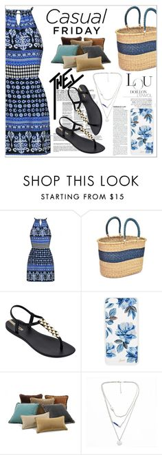 """Ethnic Style,Summer"" by nickooe-zhou ❤ liked on Polyvore featuring Swahili, IPANEMA and Sonix"