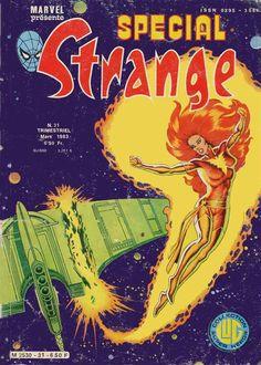 Spécial Strange 31 (1983), cover par: Jean Frisano