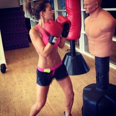 boxing..this is soo much fun as a family activity/exercise routine.