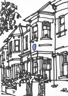 Urban sketchers show the world, one drawing at a time. Sketchbook Inspiration, Artist Sketches, Street Pictures, Sketches, Drawings, Urban Sketchers, Painting, Sketchers, Sketchbook Journaling