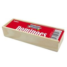 Tallon Games Dominoes in Wooden Box has dropped in price and is now lower than the average price that we've tracked. Buy it before it sells out. Wooden Boxes, Some Fun, Little Ones, Board Games, Personal Care, Toys, Fun Games, Amazon, Architecture
